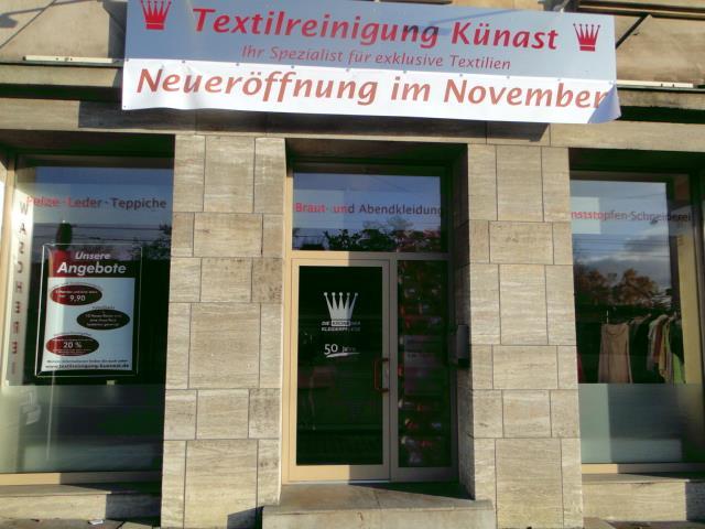 Textilreinigung Künast  Ihr Spezialist für exklusive